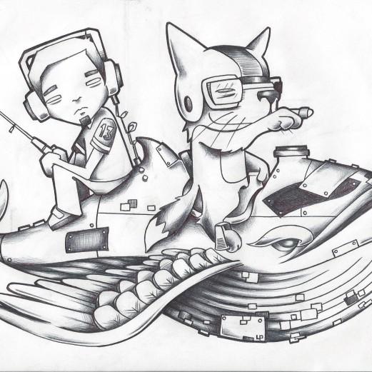 Cover Art Sketch