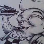 """""""Bob's Big Gun"""" Detail"""