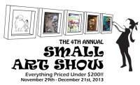 4th Annual Small Art Show