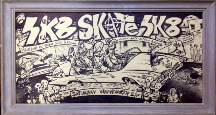 SK8 Art Show